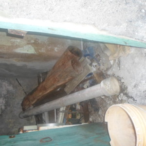 This is the Flue pipe that our Managing Director found whilst on holiday in Italy